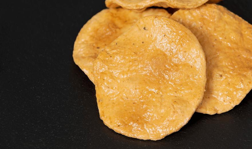 煎餅とおかきの根本製菓 【ねもとの煎餅】 昔焼(青のり)