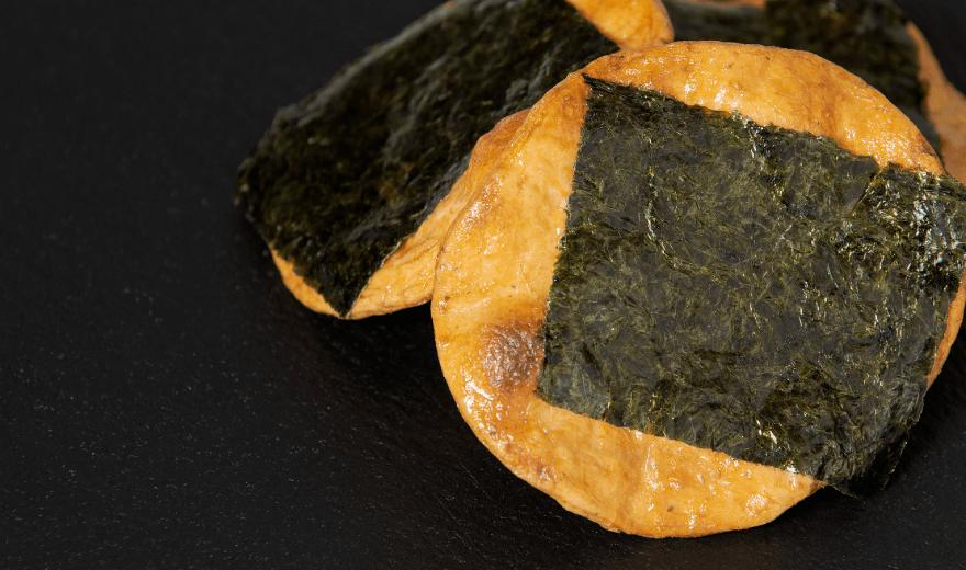 煎餅とおかきの根本製菓 【ねもとの煎餅】 昔焼(焼のり)